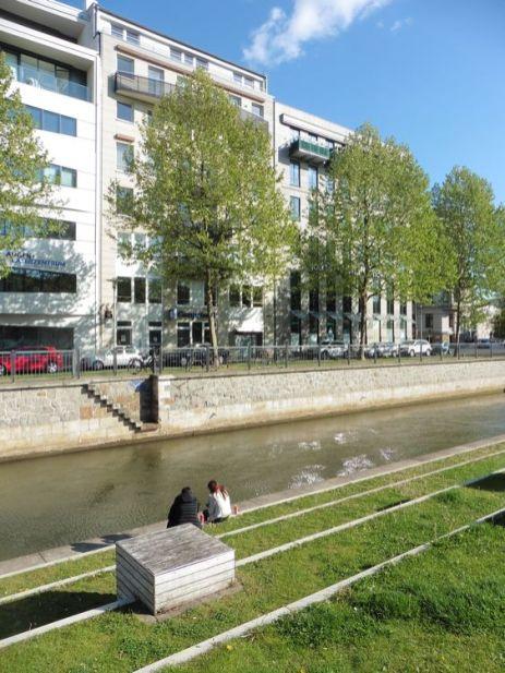 Die Lampestraße 2 (Neubau) im Frühjahr 2020