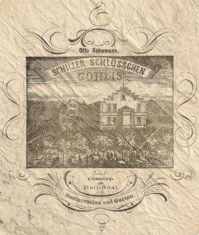 Die Serviette von 1884 (Quelle: Rainer Guthknecht)
