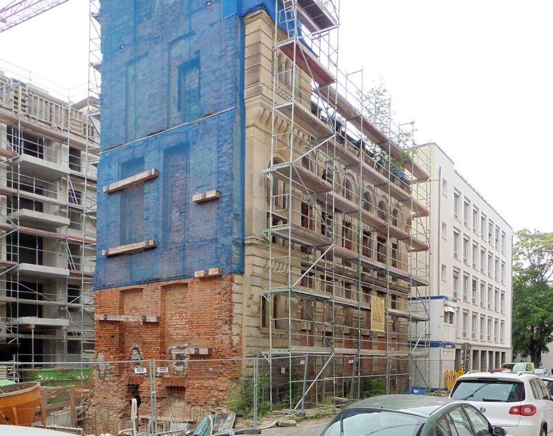 Geutebrück-Bau in der Büttnerstraße