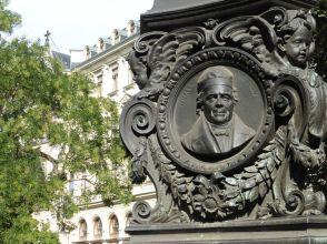 Johann Chr. Dolz in den Promenaden