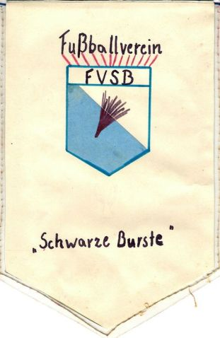 Wimpel des FV Schwarze Burste (Rückseite)