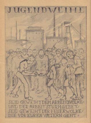 Jugendweihe-Anzeige im Kulturwille Nr. 4 von 1927