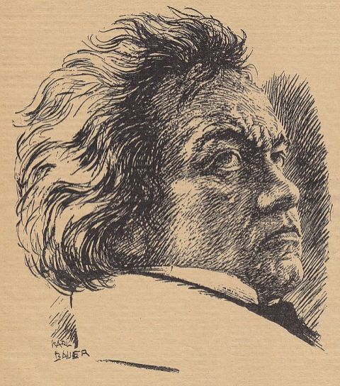 Beethoven im Kulturwille Nr. 4 von 1927