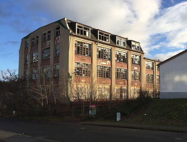 Horns Fabrik in der Hornstraße