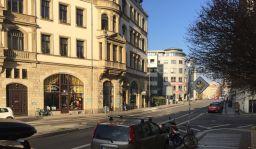 Blick in die Dufourstraße