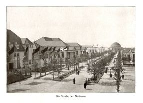 Straße der Nationen 1914