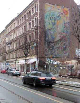 Giebel in der Eisenbahnstraße