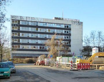 Das Gästehaus 2013 (Ansicht von der Schwägrichenstraße)