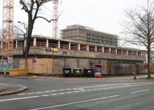 Das Gästehaus im Februar 2021 (Karl-Tauchnitz-Straße)