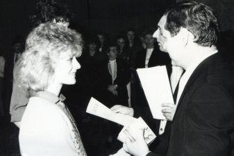 Leistungsvergleich der Lehrlinge 1988, bei dem Katja Platz 1 belegte