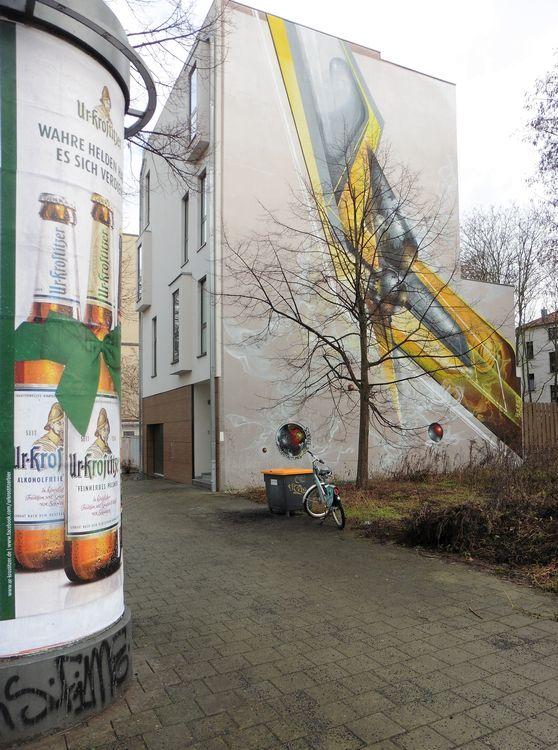 Giebel in der Wilhelminenstraße