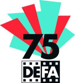 Jubiläumslogo (Pressebild der DEFA-Stiftung)