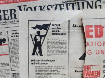 Messegäste, kauft Bücher in Leipzig!
