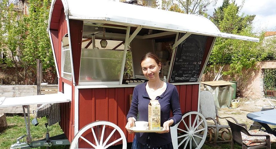 Ganz neu: Café im Grünen