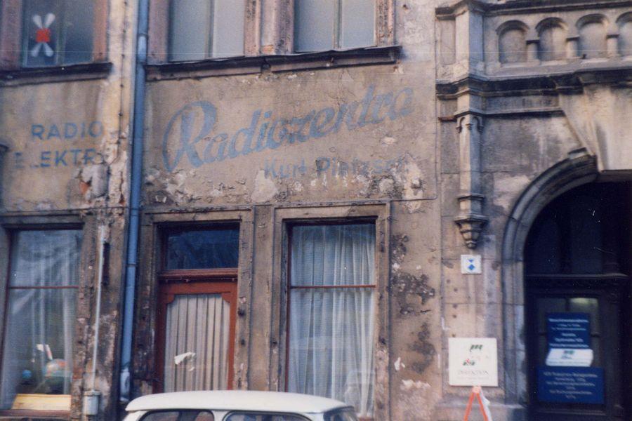 1991: Radiozentra in der Ritterstraße