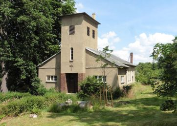 Klein wie ein Wohnhaus - Johanniskirche in Dösen