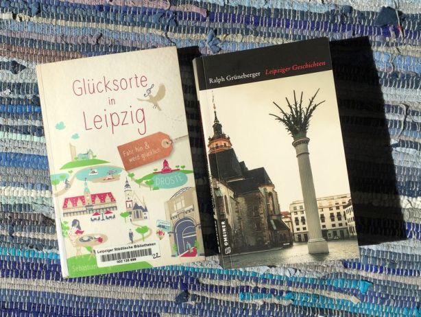 """""""Glücksorte in Leipzig"""" und """"Leipziger Geschichten"""""""