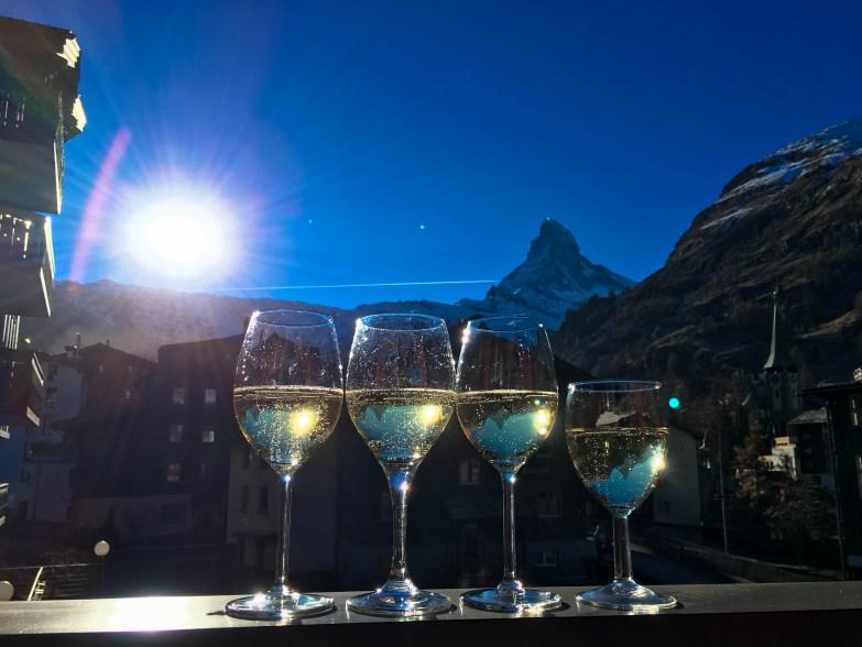 Tolles Chalet mit Blick auf das Matterhorn