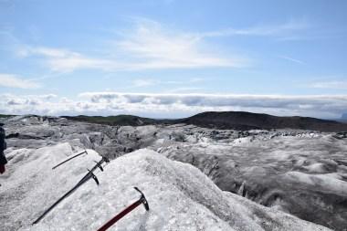 Beim Gletscherwalk...
