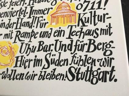 ...unsere Liebeserklärung an Stuttgart.