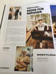 BREITLING im GTS Magazin #15