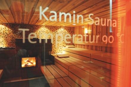 Kamin-Sauna