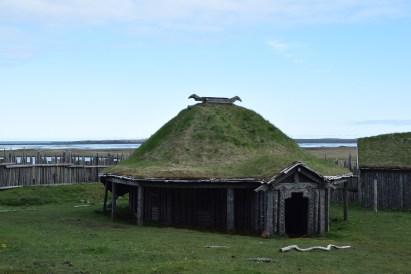 Im Vikingerdorf...