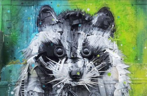 """""""Trash Animal"""" von BORDALO II"""