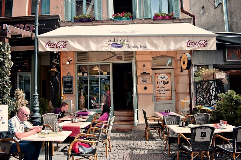 "Das Restaurant ""Aubergine""..."