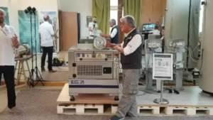 Magnetmotor Testaufbau in Belluno Italien