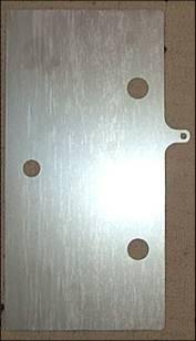 Trockenzelle Mittelplatte mit Anschluss