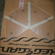 Plexiglas Pyramide 4