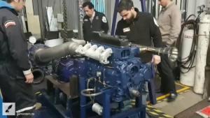 Vierzylinder Motor SGV-G von GigaThor SA
