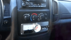 Wassermotor Kontrollpanel