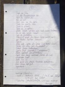 Original Gedicht.