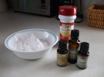 Ingredients to make the bombs!