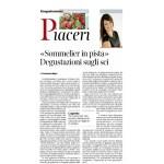 20-02-2016 Corriere dell'Alto Adige Sommelier in pista Degustazioni sugli sci