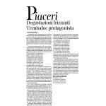 21:11:2015 Corriere del Trentino Degustazioni frizzanti Trentodoc protagonista