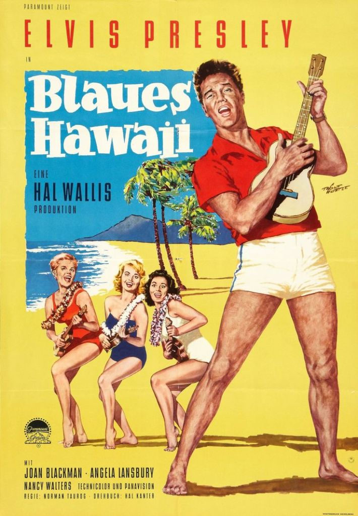 locandina blue hawaii