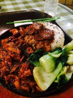 Korean-Chinese Fusion Food