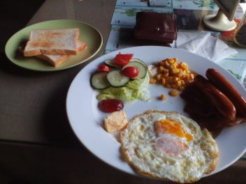 An English breakfast, or not