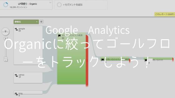 Google Analyticsゴールフロー