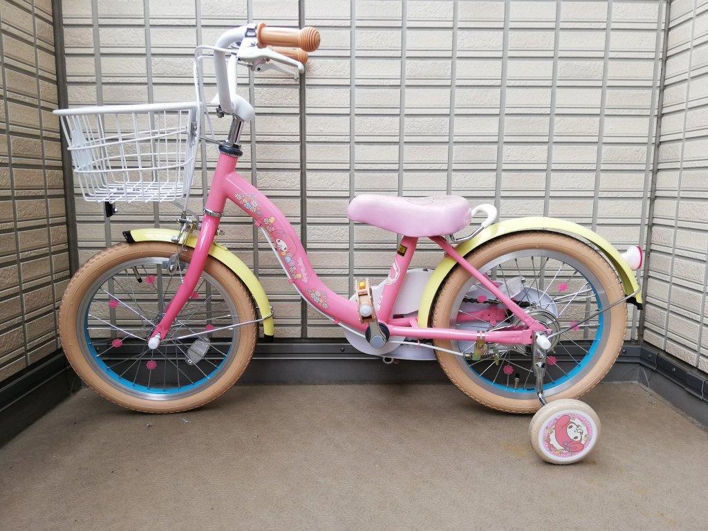 マイメロ自転車