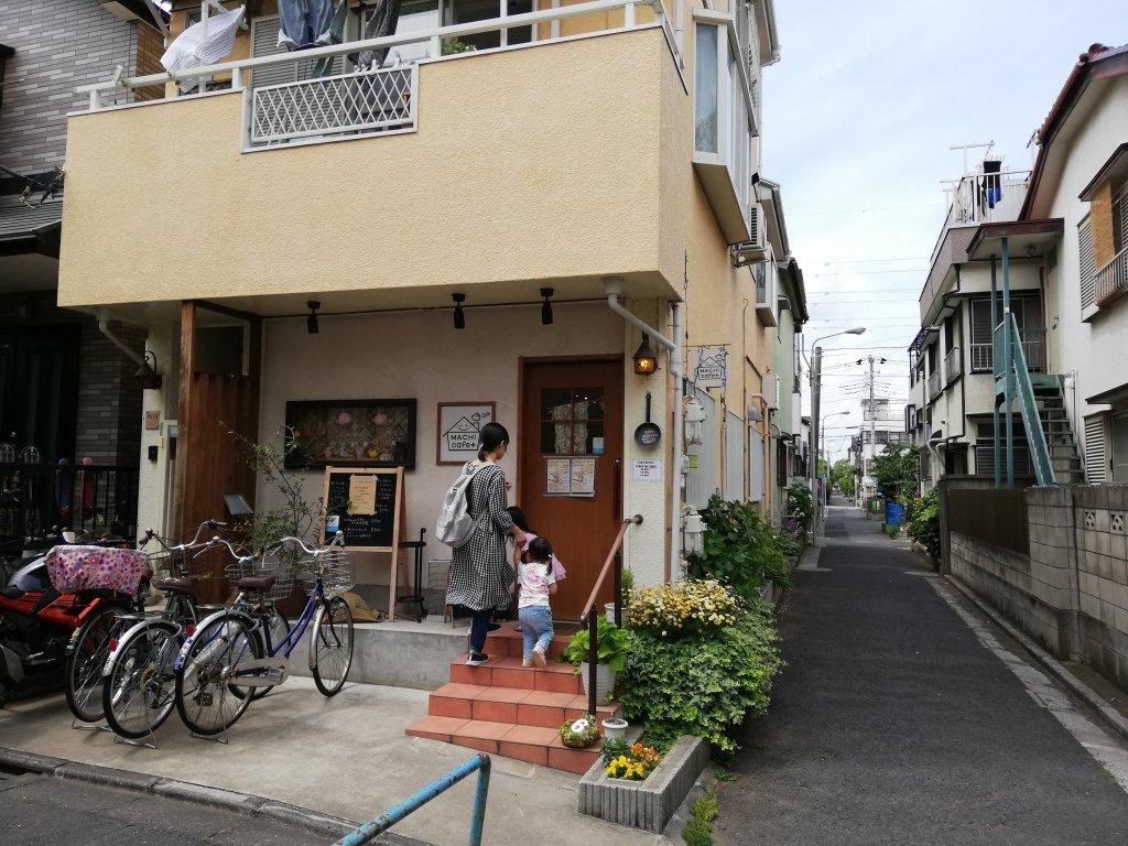 瑞江マチカフェプラス店舗外観