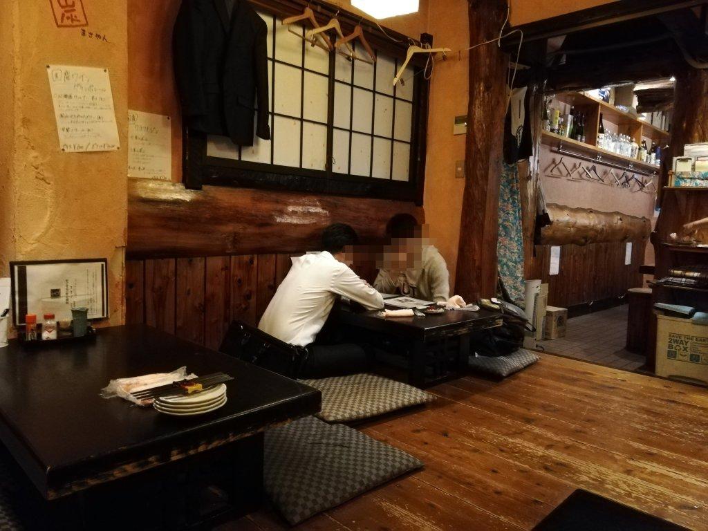 江戸川区瑞江の焼鳥居酒屋炭焼きみやいちの店舗内観