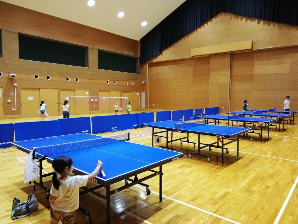 二之江コミュニティ会館のスポーツルーム