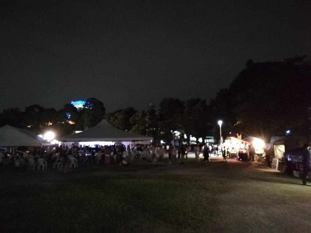ストリートカルチャーイベント「XP」のライブ会場