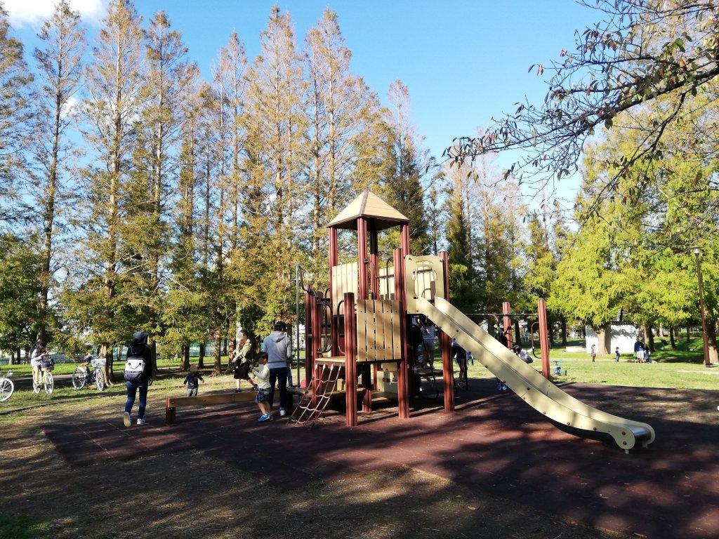 江戸川区篠崎公園の子供むけ遊具
