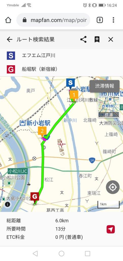 東京オリンピックの江戸川区ルート