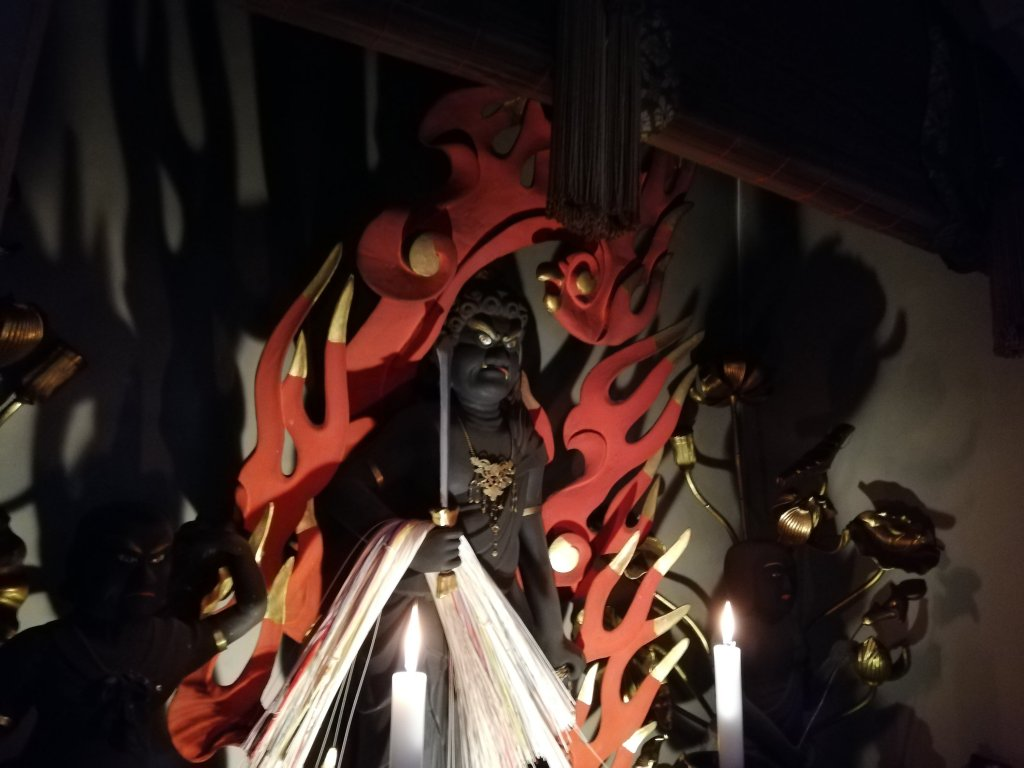 江戸川区鹿骨の密蔵院の不動明王